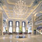 2016都市简约小型商务酒店装修效果图