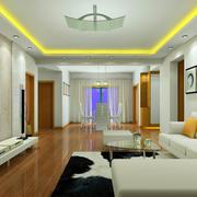 客厅吊顶设计图片