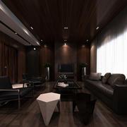 沉稳系列私人别墅设计装修效果图