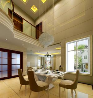轻快风格私人别墅设计装修效果图