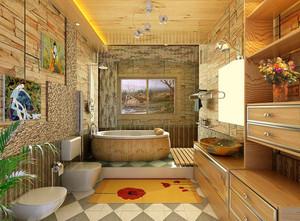 别墅梦幻系列卫生间设计装修效果图