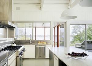 欧式风格单身公寓厨房装修效果图