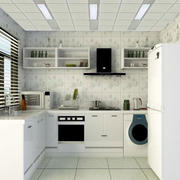 纯白色调厨房设计大全