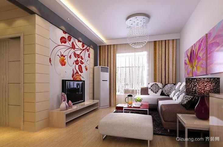 2016大户型时尚风格客厅装修效果图