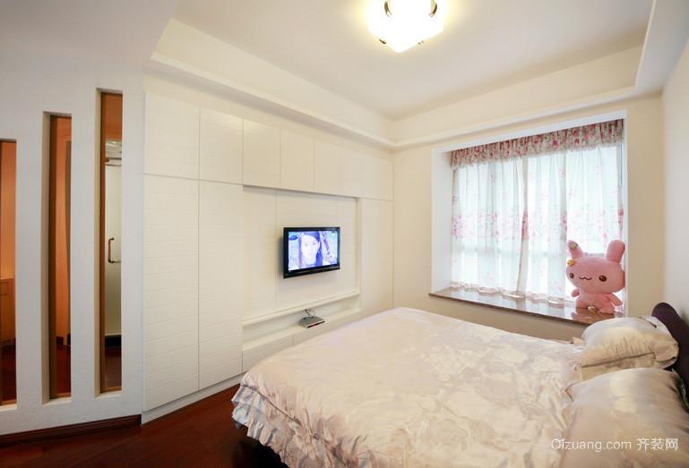 128平米后现代风格卧室装修效果图