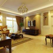 暖色调客厅设计大全