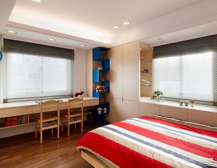 别墅现代风格儿童房设计装修效果图