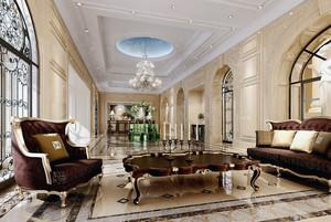 2015现代大户型商务酒店装修效果图
