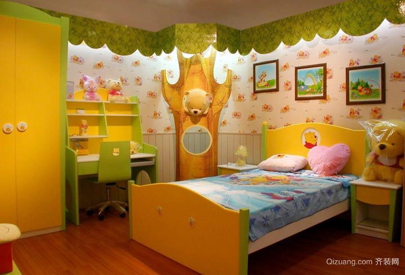 136平米精致型儿童房设计装修效果图