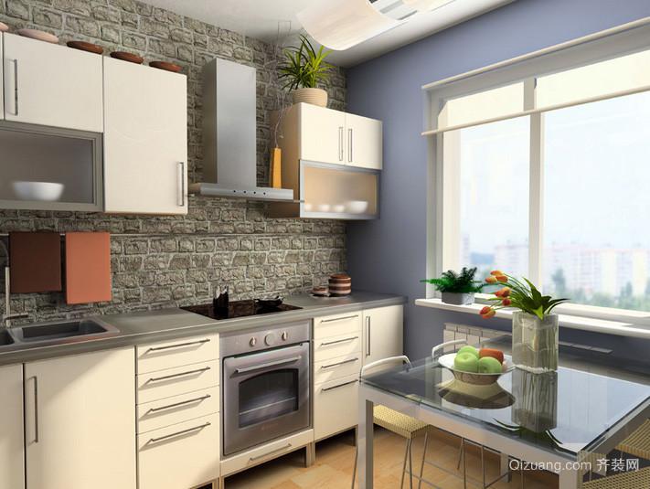 128平米创意厨房装修效果图