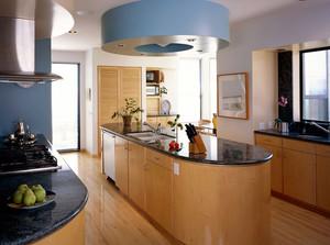 宜家风格单身公寓简洁型厨房装修效果图
