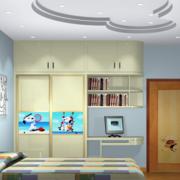 2016欧式大户型精美的儿童房间装修效果图欣赏