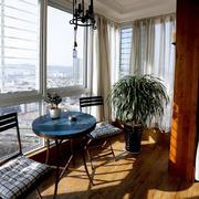 美式小阳台装饰设计