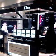 后现代风格深色理性化化妆品店装修效果图