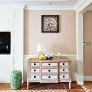 美式美式实木收纳柜
