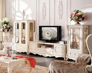 别致高雅的欧式电视柜装修效果图