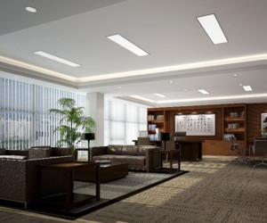 2016现代都市董事长办公室装修实景效果图