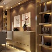 时尚的现代餐厅整体设计
