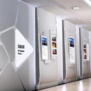 2016年现代简约风格公司文化墙装修图