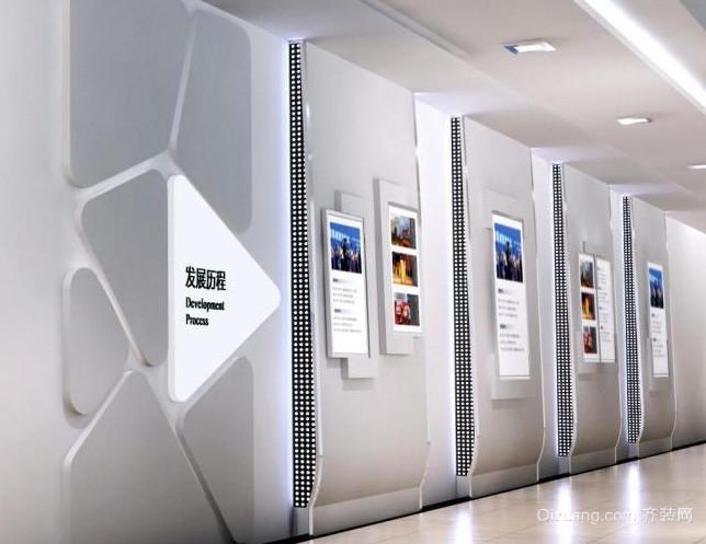 2016年现代简约风格公司文化墙装修图高清图片