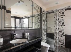 100平米后现代风格复式楼卫生间装修效果图