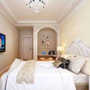 90平米大户型欧式卧室吊顶装修效果图欣赏