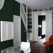 90平米现代跃层住宅隐形门装修效果图