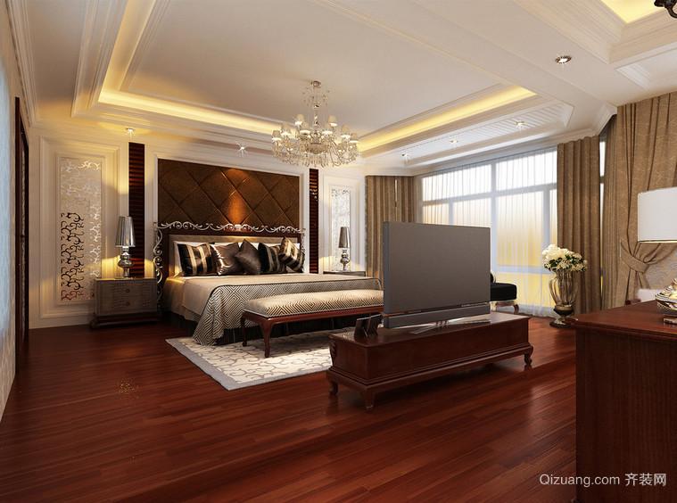 2016精美的大户型欧式卧室装修效果图实例欣赏