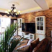 美式客厅组合电视柜