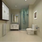 现代大户型欧式唯美的洗手间装修效果图欣赏