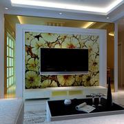 石膏板电视墙装饰效果图