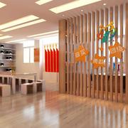 80平米现代简约风格幼儿园会议室文化墙装修效果图