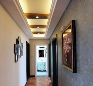 趣味十足:美式乡村风格120平米装修样板房