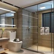 复式楼简欧风格卫生间百叶窗装修效果图