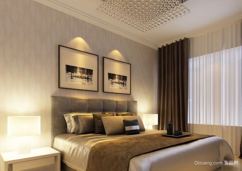 2016大户型精美的现代简约卧室装修效果图欣赏