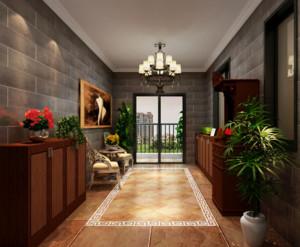 现代欧式大户型唯美的入户花园装修效果图欣赏