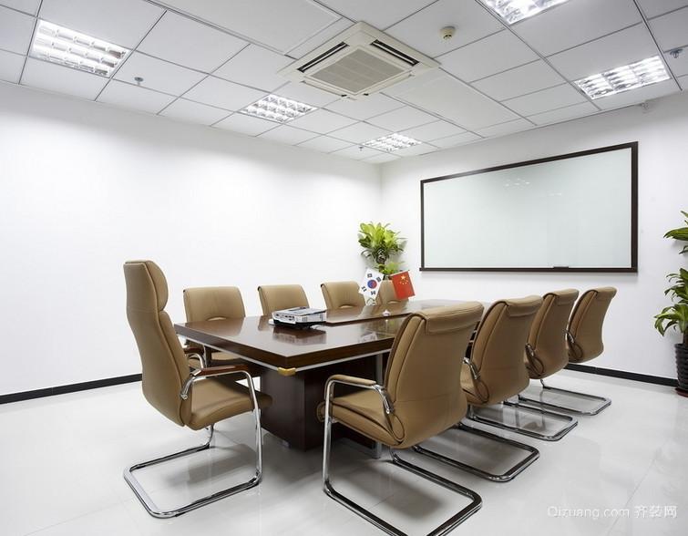 2016精美的现代独特的会议室装修效果图鉴赏