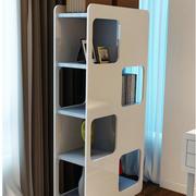 女神都市公寓小卧室简易书架效果图