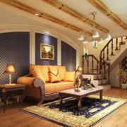 2016大户型欧式沙发背景墙装修效果图鉴赏