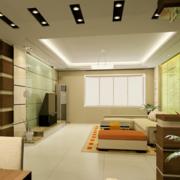 大户型欧式精美的现代客厅装修效果图欣赏