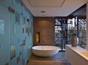 90平米复式楼简约风格卫浴装修效果图