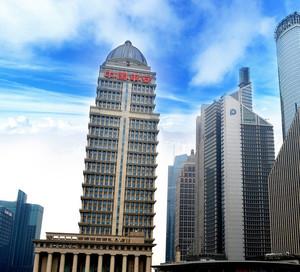 都市大型中国平安银行大厦外观效果图