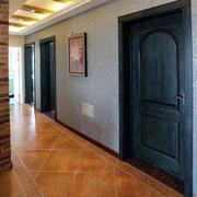 美式家居走廊地板图片