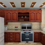 2016大户型欧式精致厨房装修设计效果图鉴赏