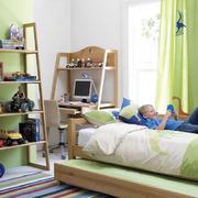 2016小清新18平米儿童房间装修效果图
