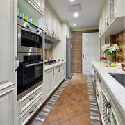 美式大型厨房欣赏