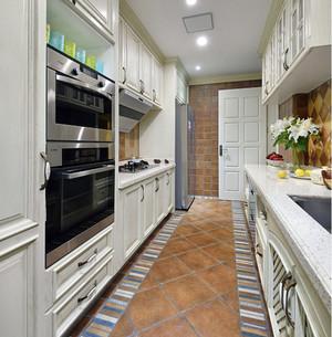 现代小美式乡村风格三室一厅装修样板房