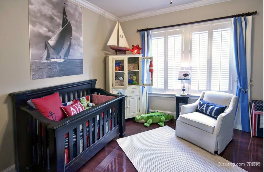 胞胎简约小户型儿童房间装修效果图 齐装网装修效果图高清图片