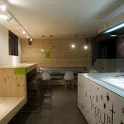 冰淇淋小屋简约吧台装饰