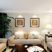 现代客厅沙发背景装饰画